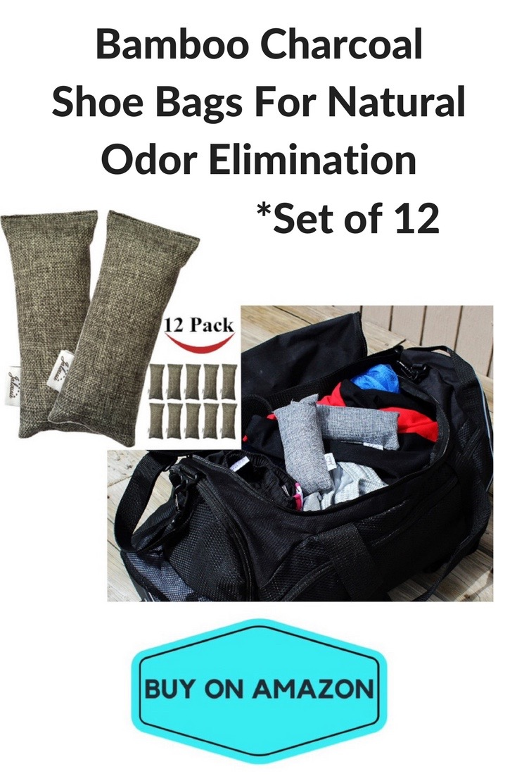 Bamboo Charcoal Shoe Bags For Natural Odor Elimination
