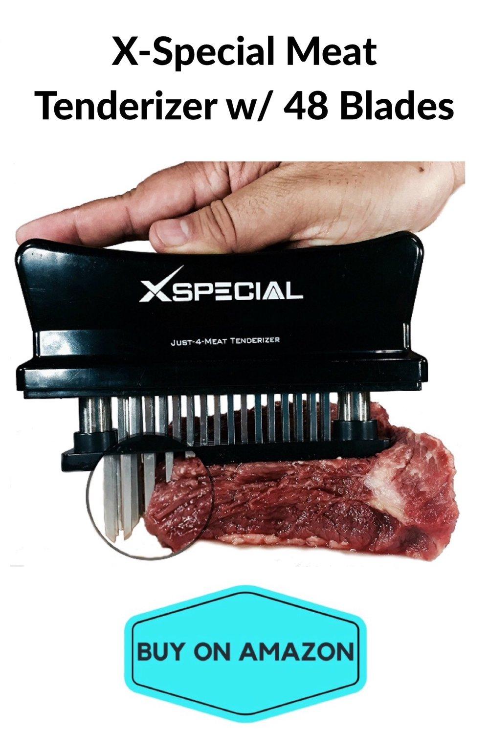 X-Special Meat Tenderizer w/ 48 Blades