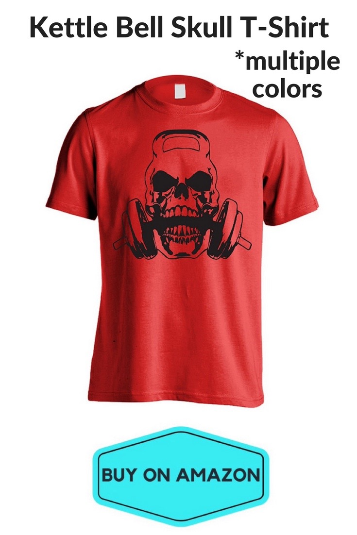 Kettle Bell Skull T-Shirt