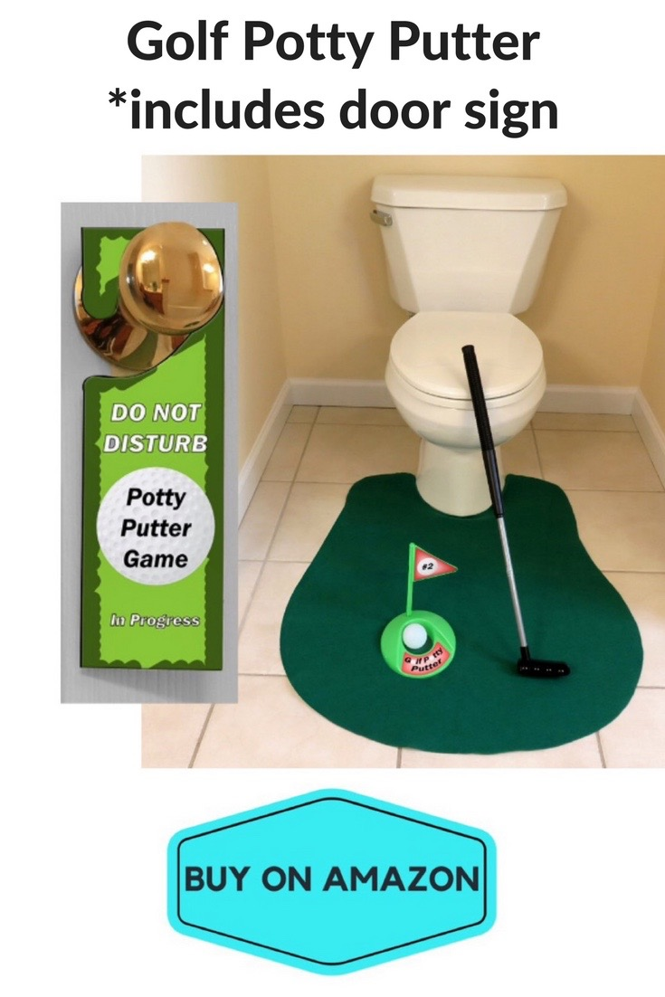 Golf Potty Putter