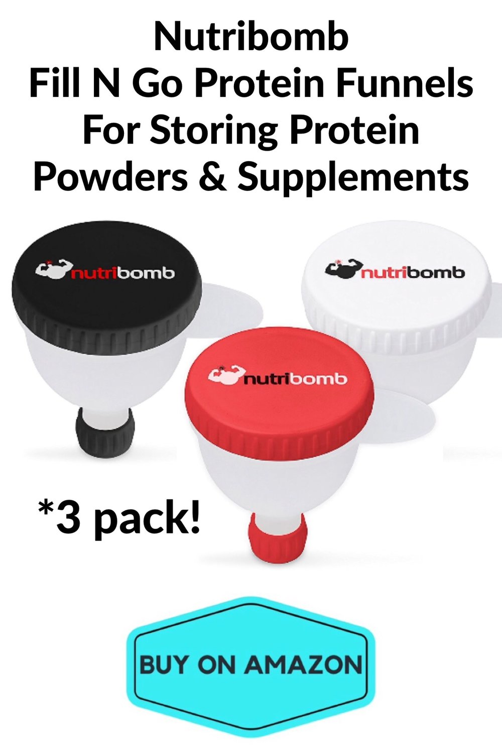 Nutribomb Fill-N-Go Protein Funnels