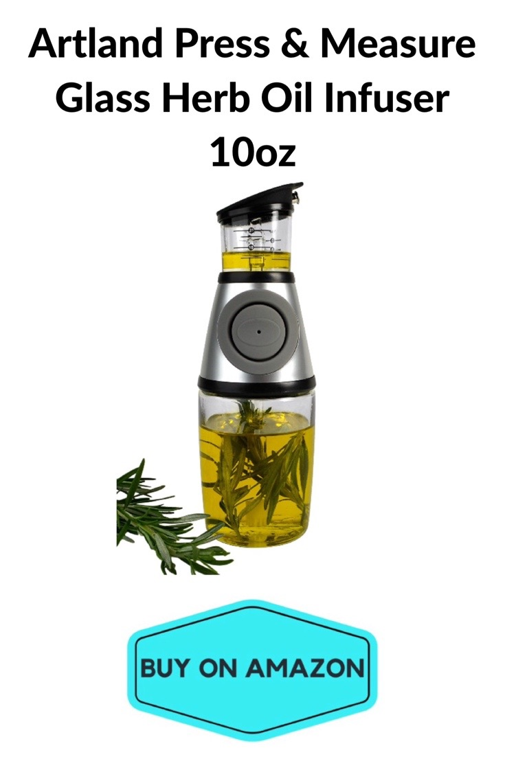 Glass Herb Oil Infuser