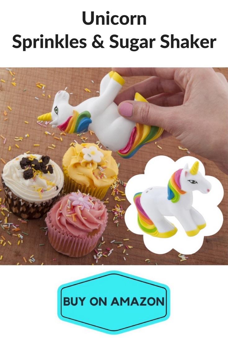 Unicorn Sprinkles & Sugar Shaker
