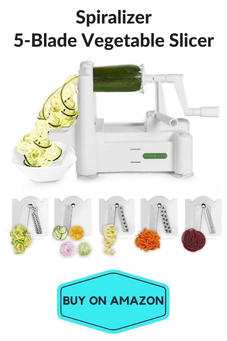 Spiralizer 5-Blade Vegetable Slicer