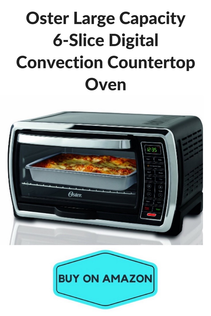 Oster Large Capacity 6-Slice Digital Convection Countertop Oven
