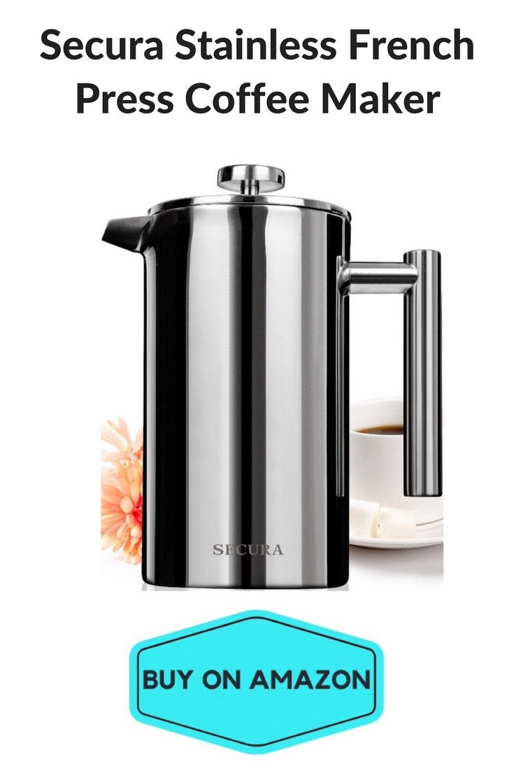 Secura Stainless French Press Coffee Maker