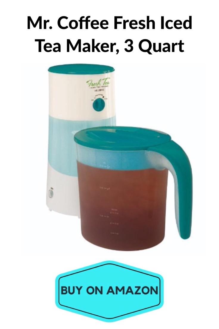 Mr. Coffee Fresh Iced Tea Maker, 3 Qt