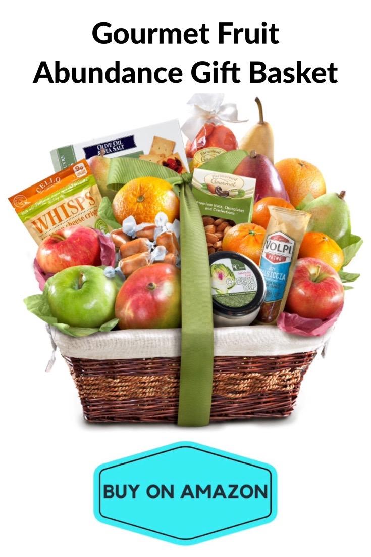 Gourmet Fruit Abundance Gift Basket