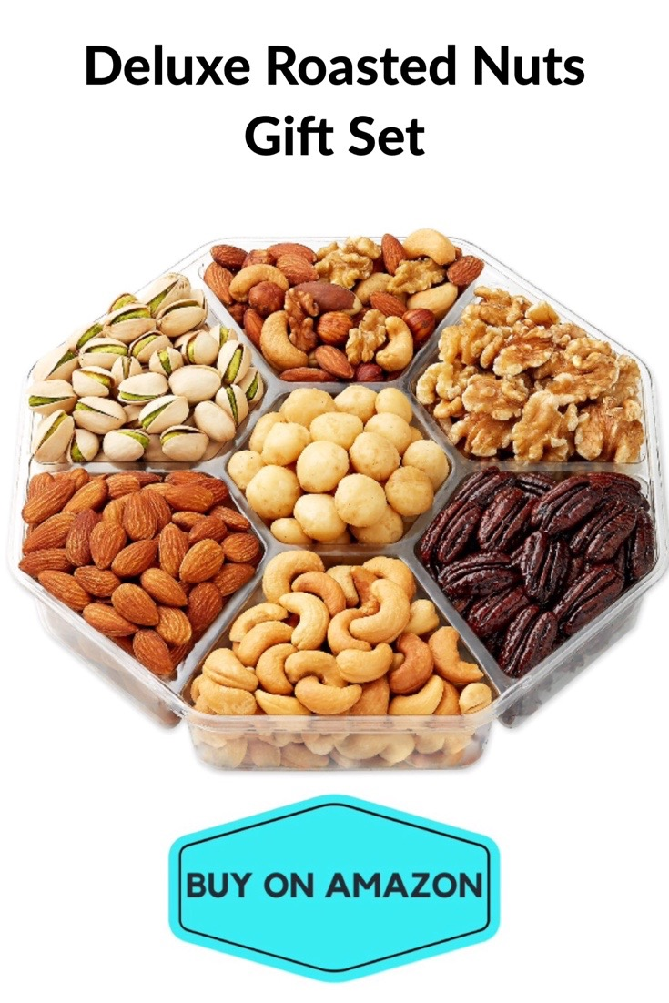 Deluxe Roasted Nuts Gift Basket