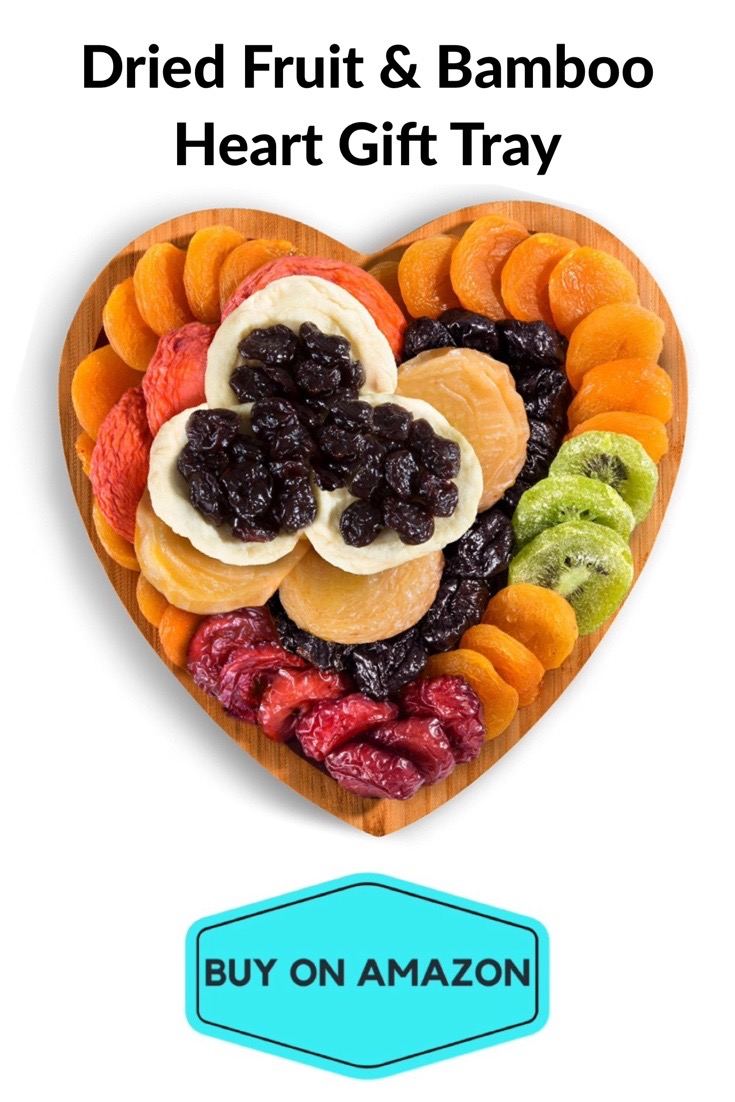 Dried Fruit & Bamboo Heart Gift Tray