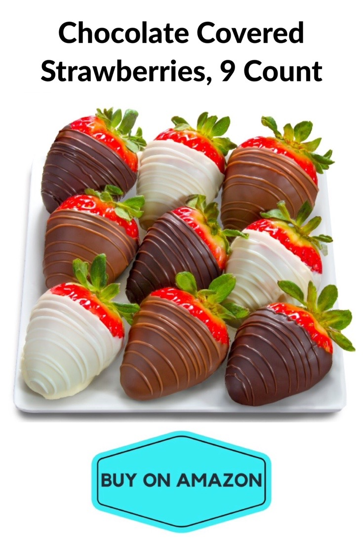 Chocolate Covered Strawberries, 9 Count