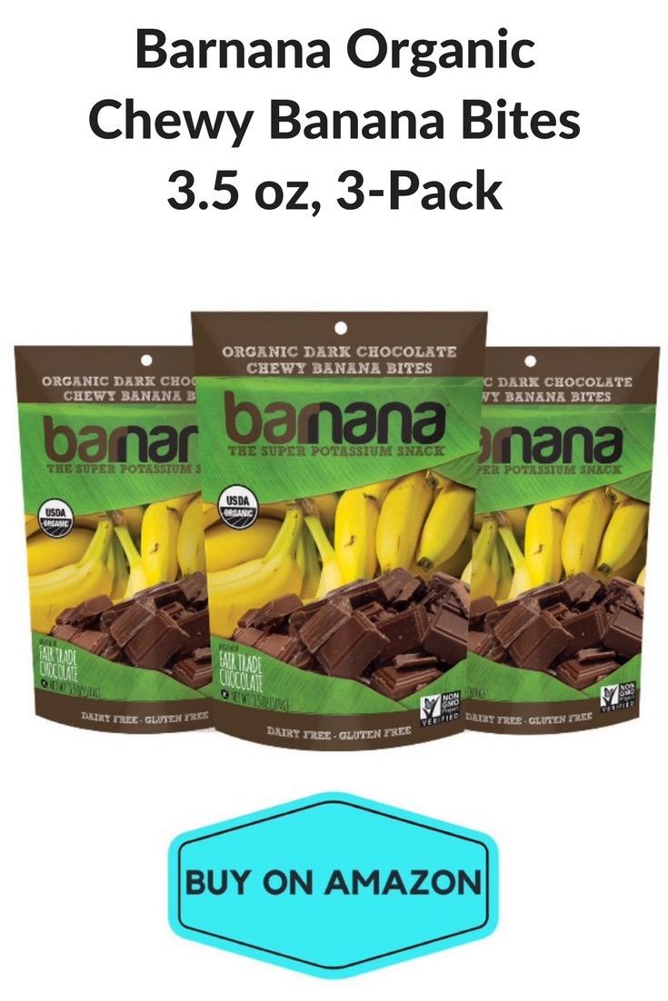 Banana Organic Chewy Bites, 3 count