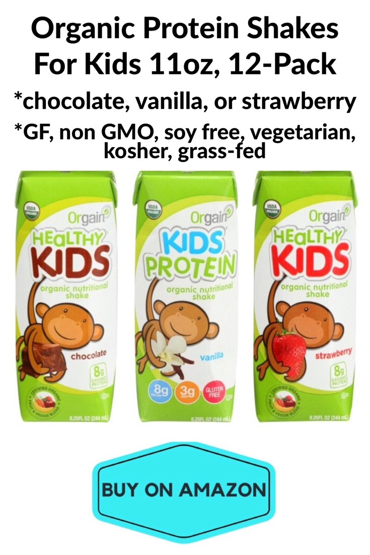 Kid Organic Protein Shakes, 12 pack