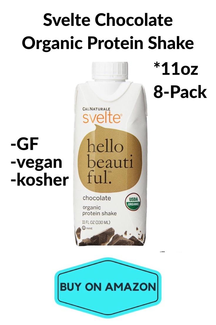 Svelte Chocolate Organic Protein Shake