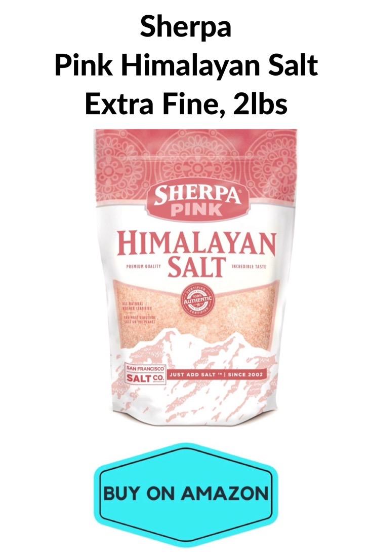 Sherpa Pink Himalayan Salt Extra Fine, 2 lbs