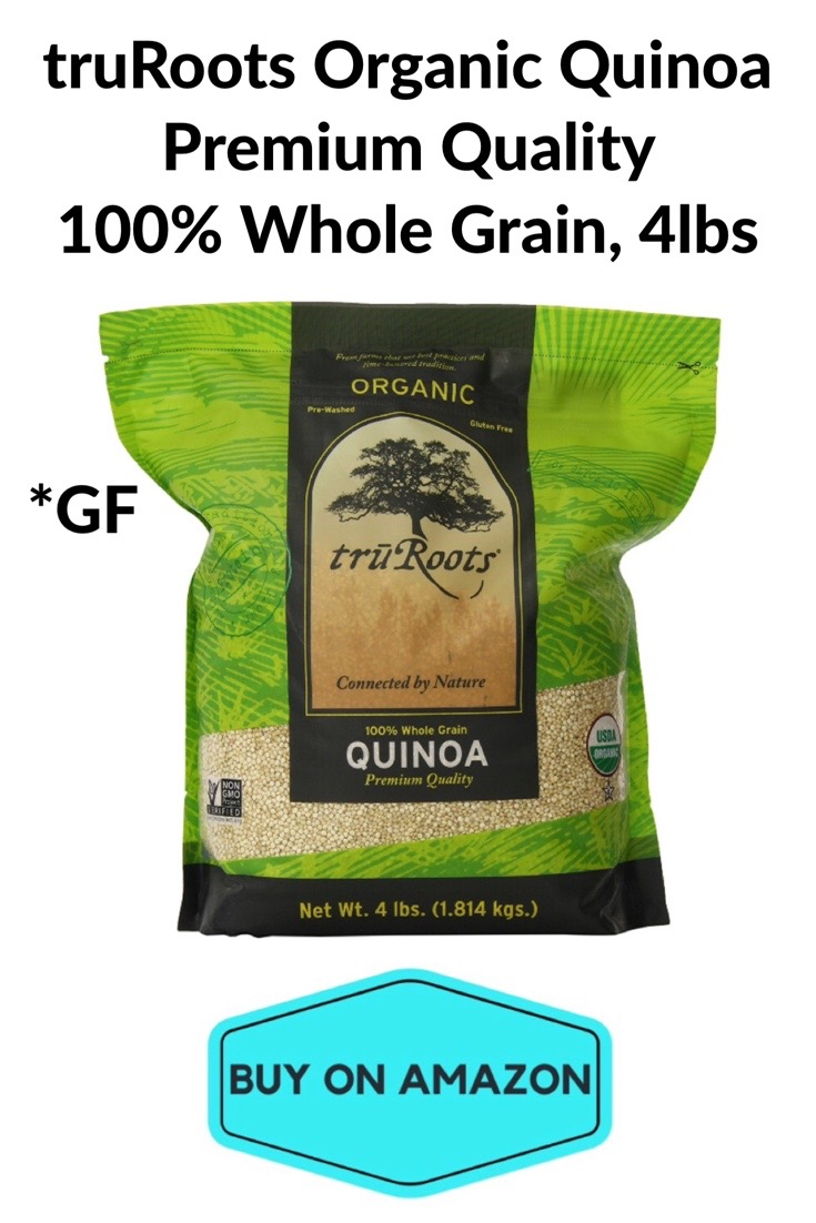 truRoots Organic Quinoa Premium Quality 100% Whole Grain