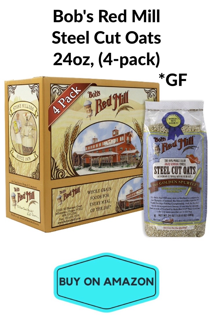 Bob's Red Mill Steel Oats 24oz, 4 pack