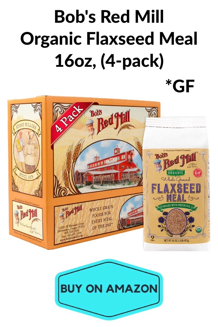 Bob'e Red Mill Organic GF Flaxseed Meal, 16oz, 4 pack
