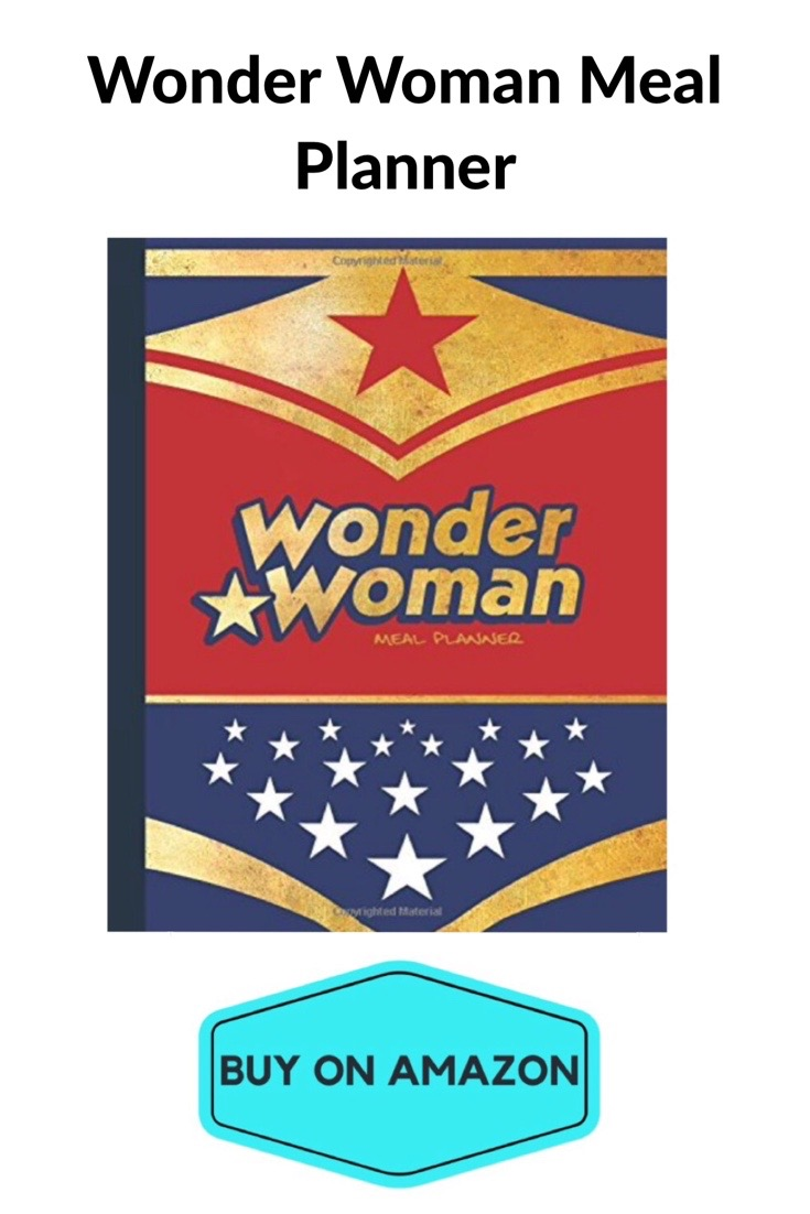 Wonder Woman Meal Planner