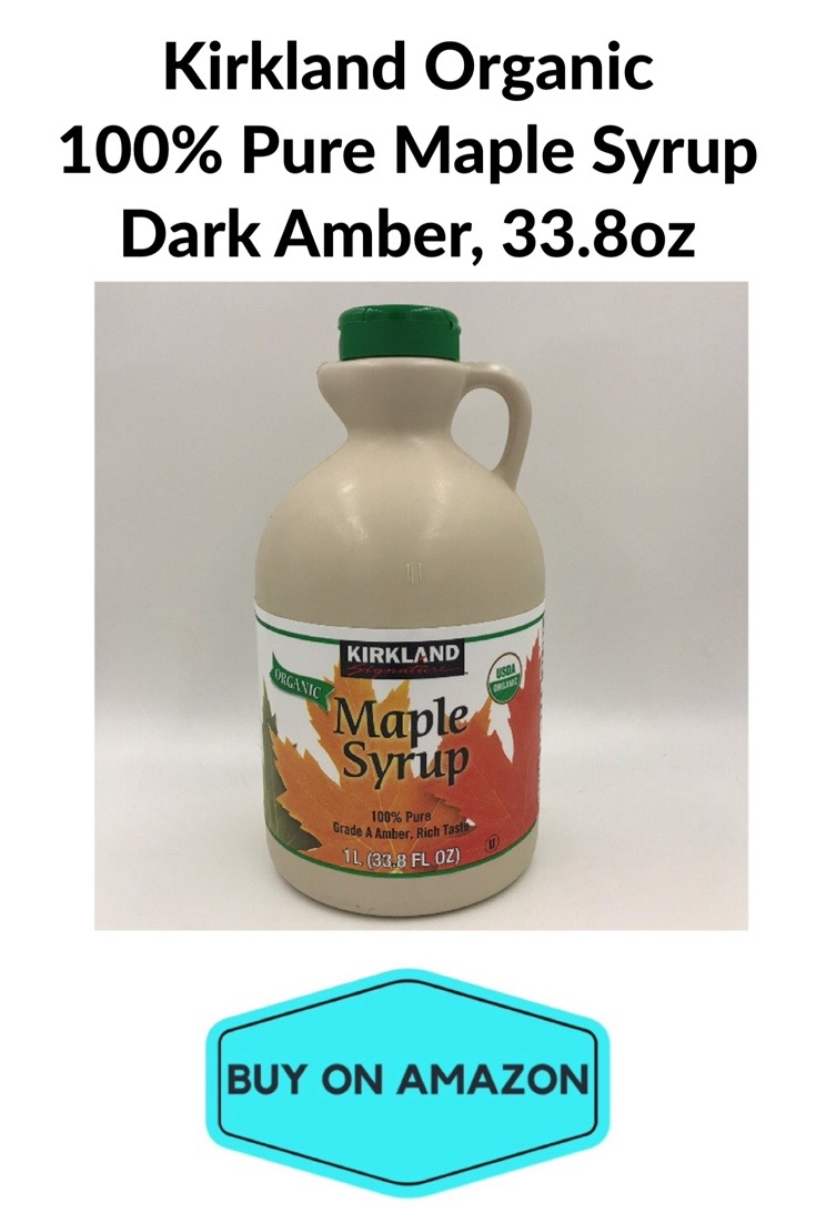 Kirkland Organic 100% Pure Maple Syrup Dark Amber