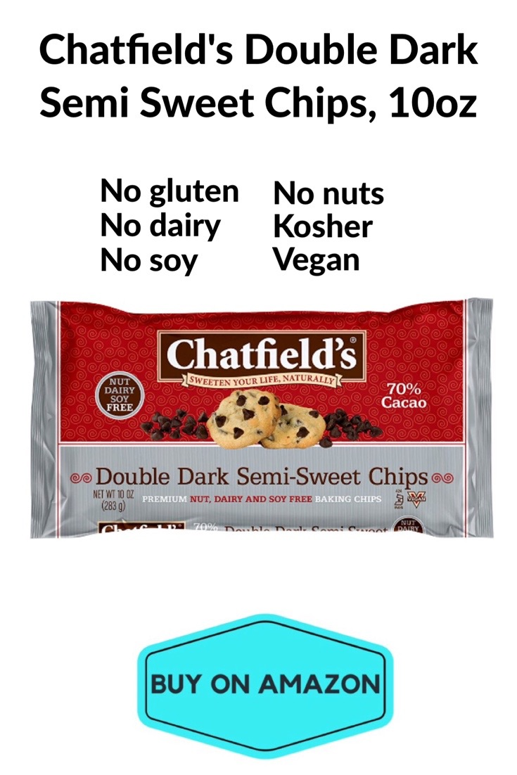 Chatfield's Double Dark Semi Sweet Chips, 10 oz