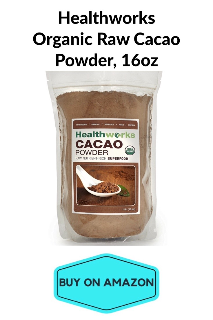 Healthworks Organic Raw Cacao Powder, 16 oz