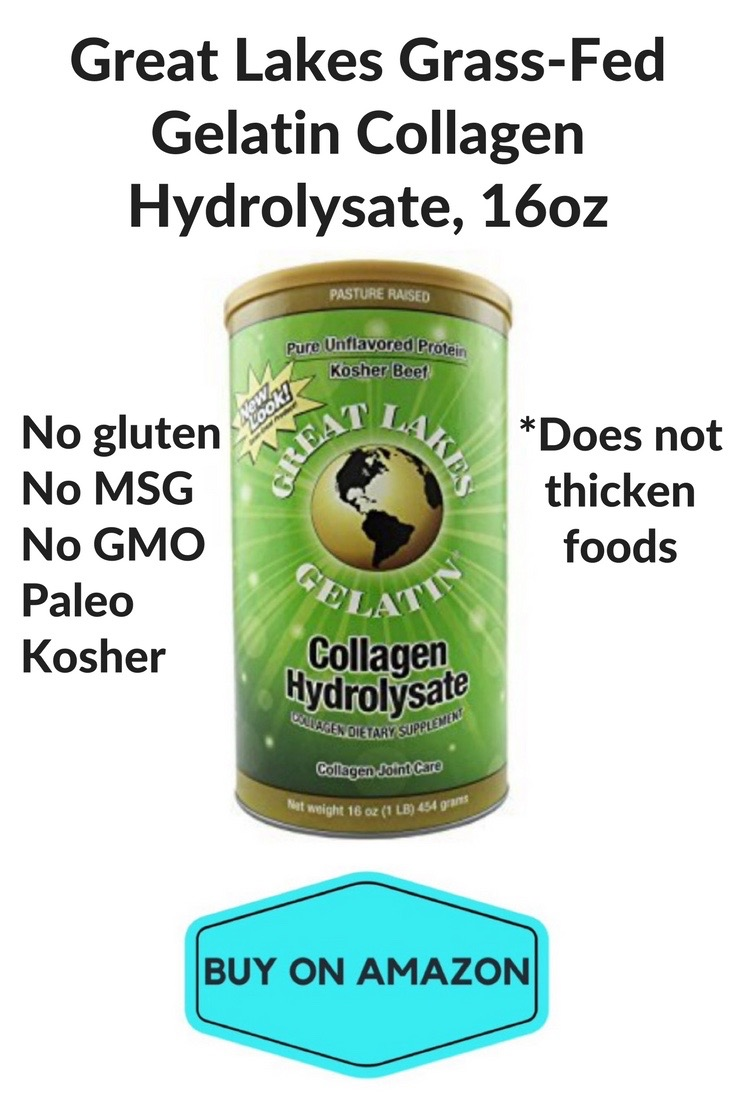 Great Lakes Grass-Fed Gelatin Collagen Hydrolysate, 16 oz