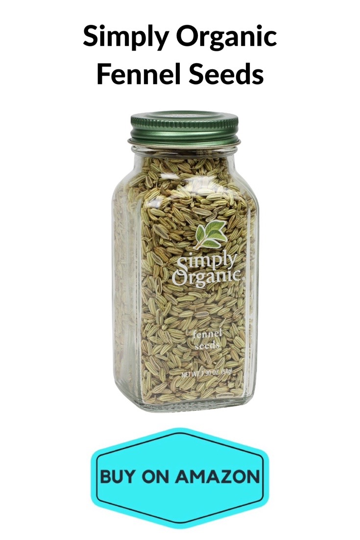 Simply Organic Fennel Seeds