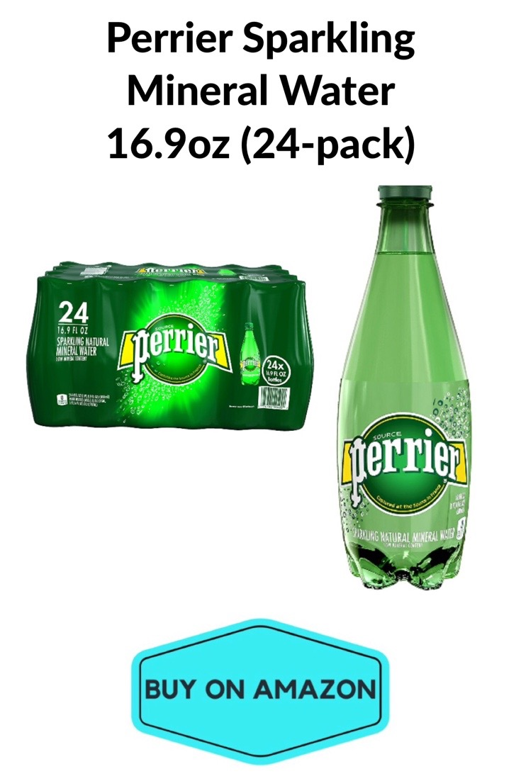 Perrier Sparkling Mineral Water, 24 pack