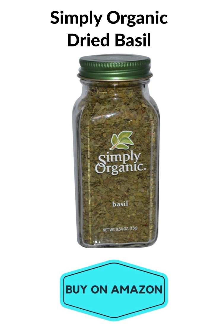 Simply Organic Dried Basil