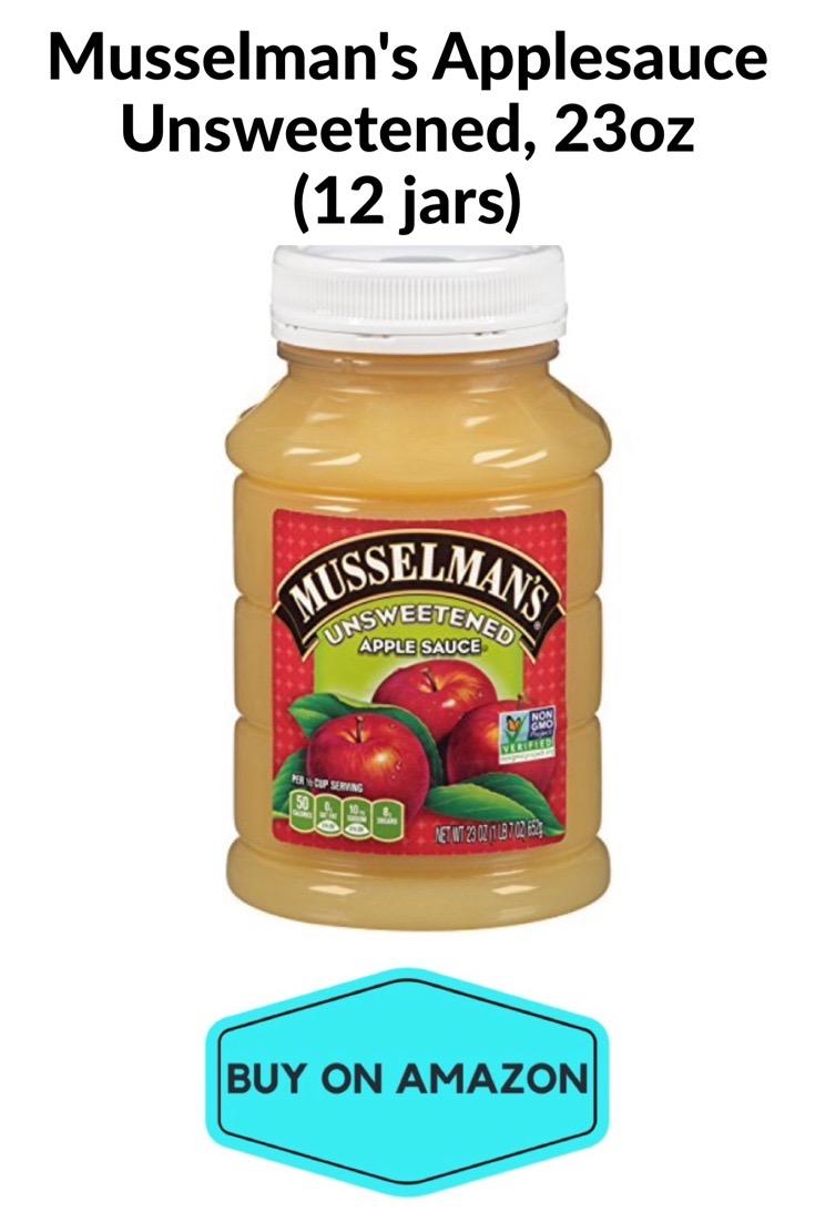 Musselman's Applesauce Unsweetened, 12 jars