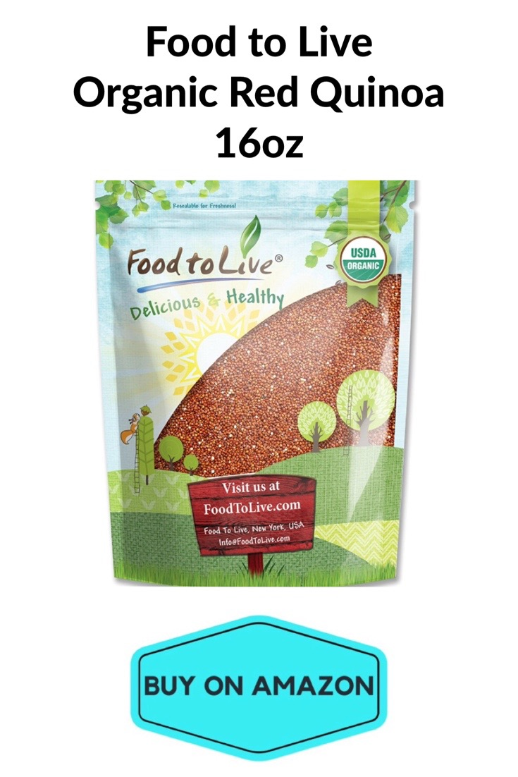 Food To Live Organic Red Quinoa