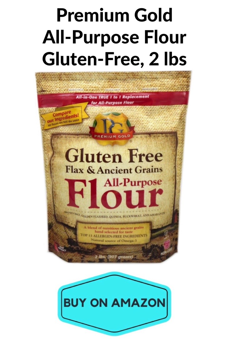 Premium Gold All-Purpose Flour, Gluten Free, 2 lbs