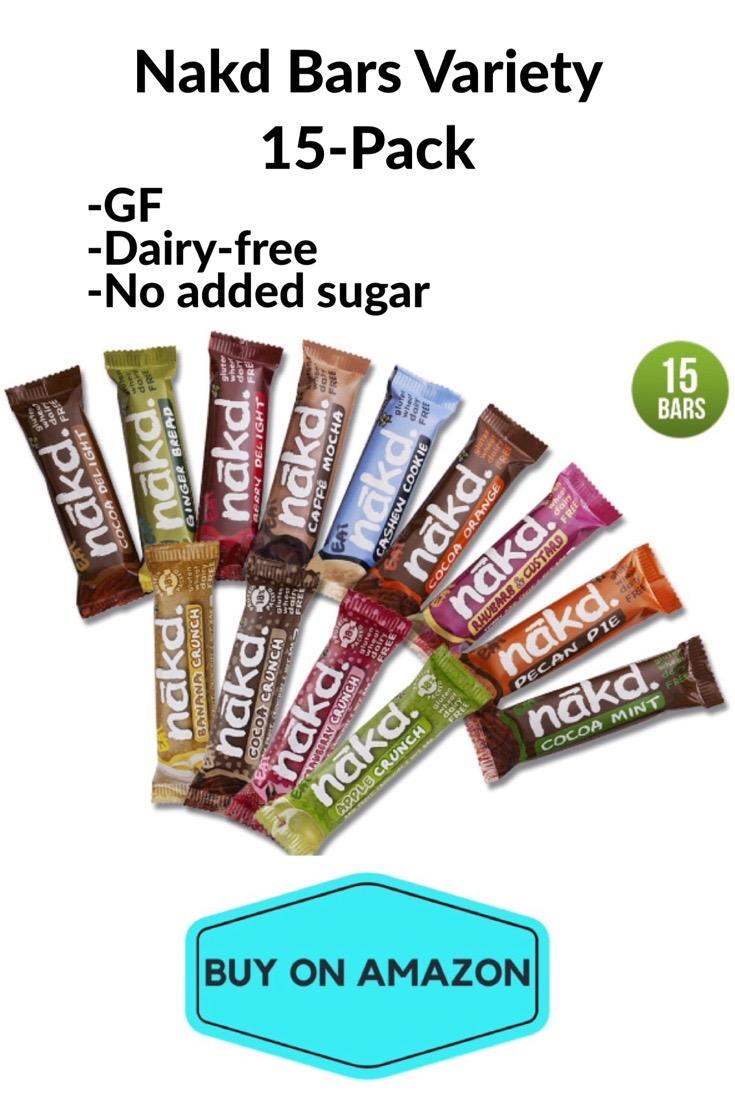 Nakd Bars Variety 15 Pack