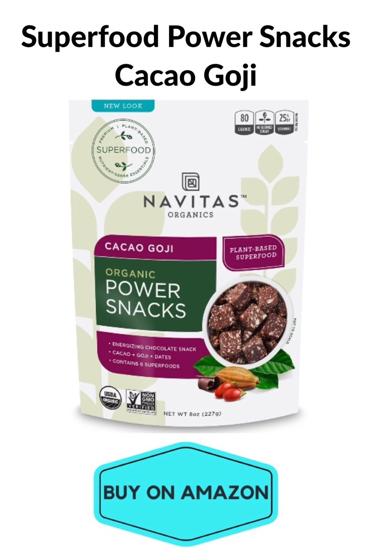 Superfood Power Snack Bites, Cacao Goji