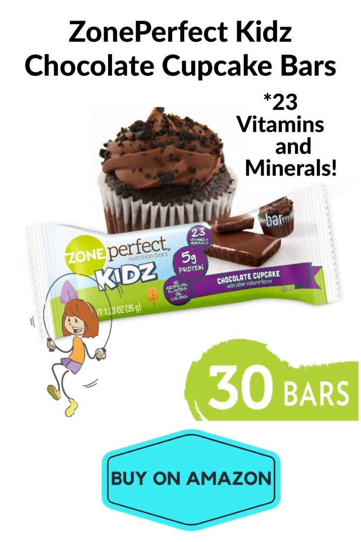 ZonePerfect Kidz Nutrition Bars, Chocolate Cupcake, 30 count