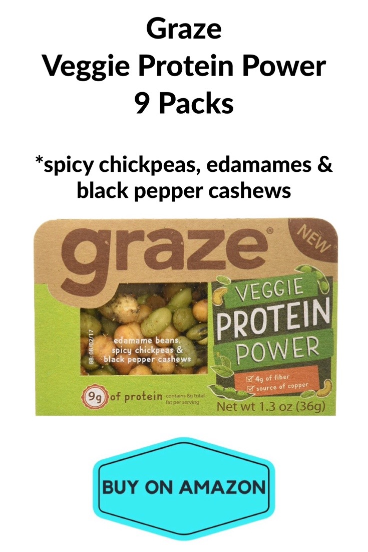 Graze Veggie Protein Power, 9 pack