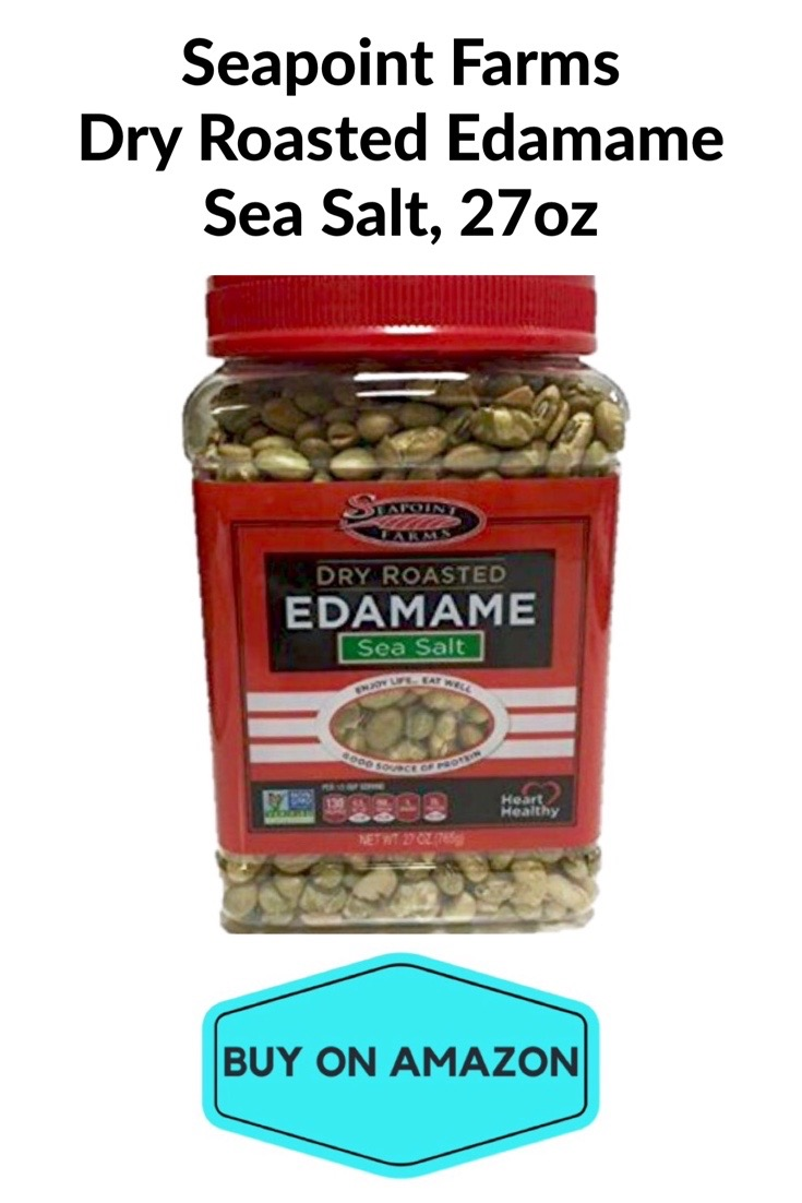 Seapoint Farms Dry Roasted Edamame, Sea Salt, 27 oz