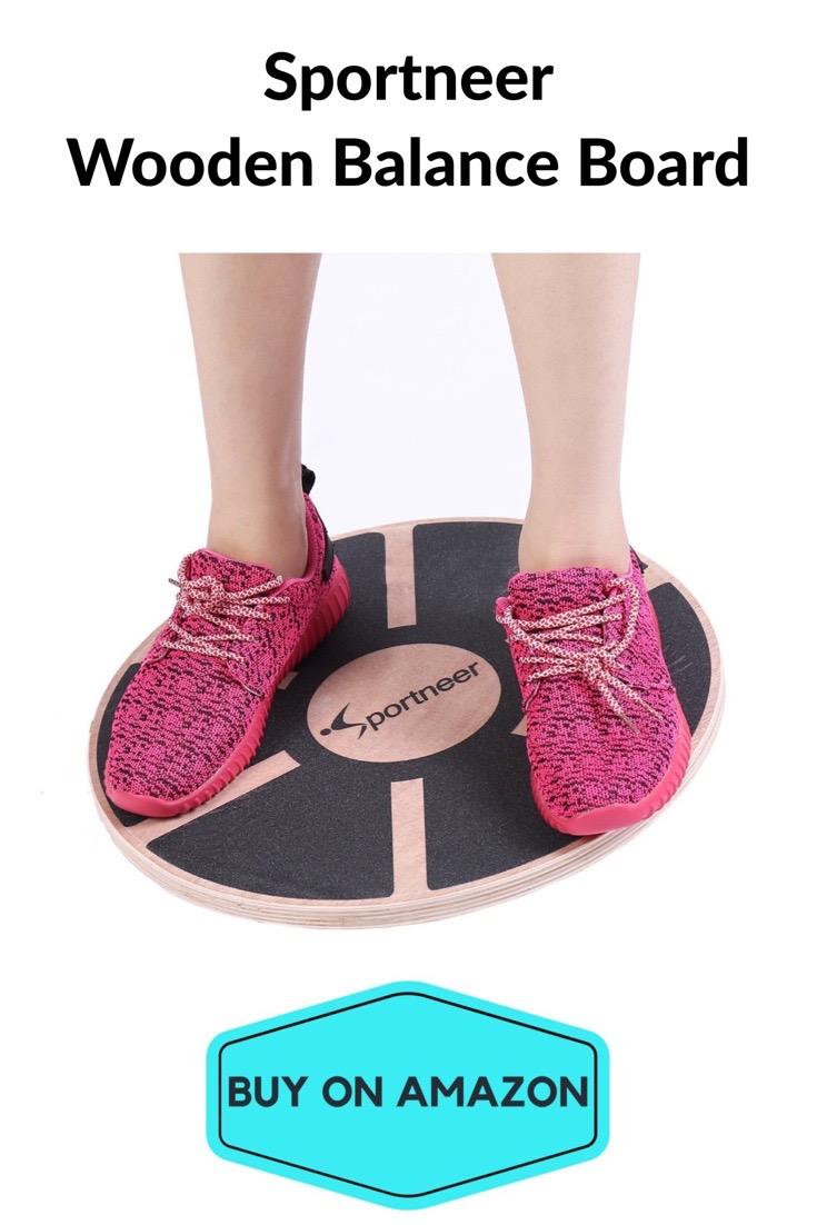 Sportneer Wooden Balance Board