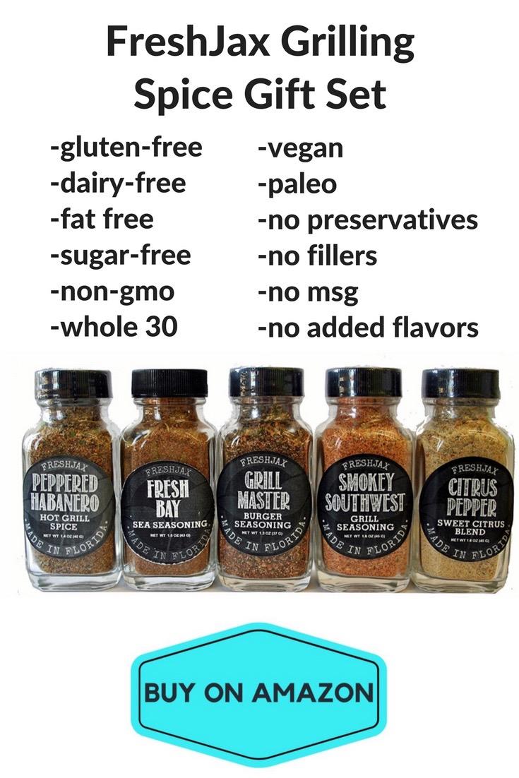 FreshJax Grilling Spice Gift Set
