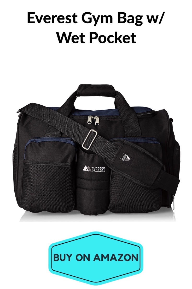 Everest Gym Bag w/ Wet Pocket