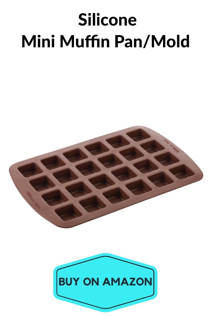 Silicone Mini Square Muffin Pan/Mold