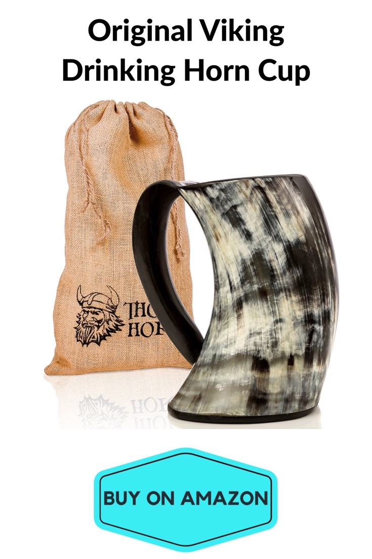 Original Viking Drinking Horn Cup