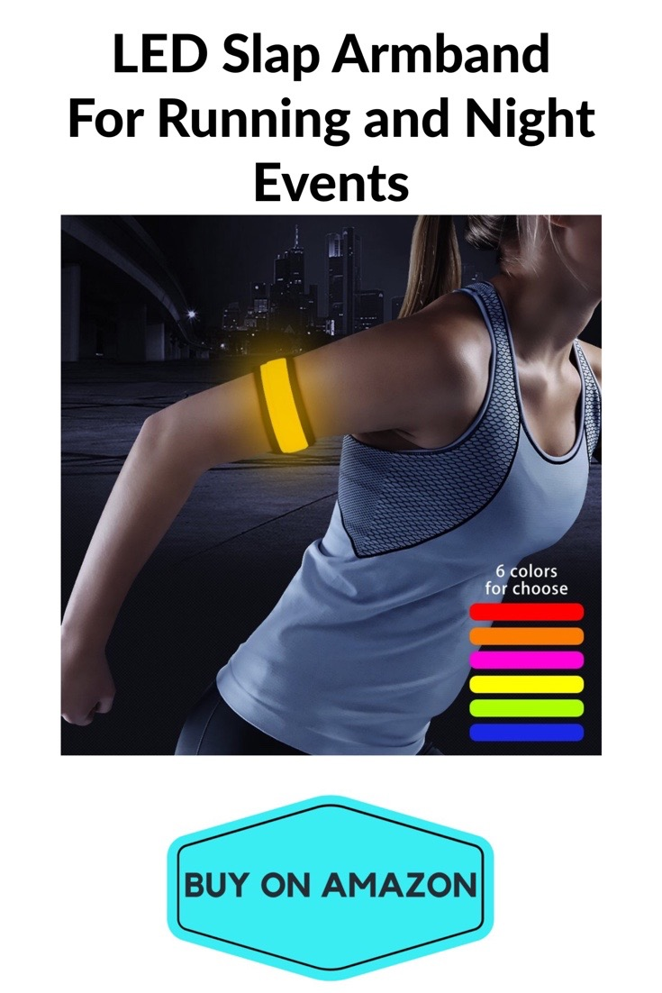 LED Slap Armband For Night Running and Events