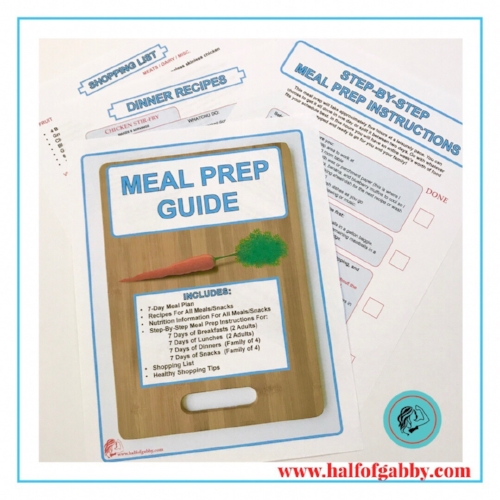FREE MEAL PREP GUIDE!