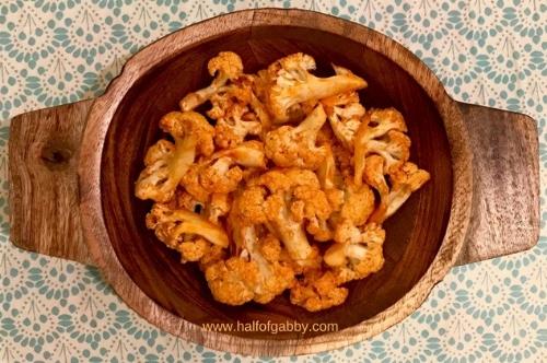 Healthy Cauliflower Buffalo 'Wings'