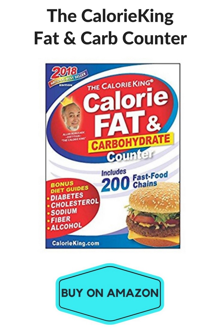 The CalorieKing Fat & Carb Counter