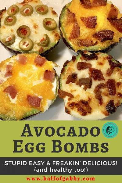 Avocado Egg Bombs! So delicious!
