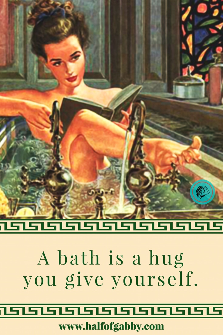 Baths are healing!