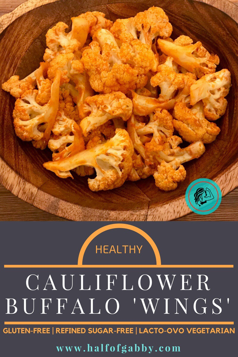 Healthy Cauliflower Buffalo Wings